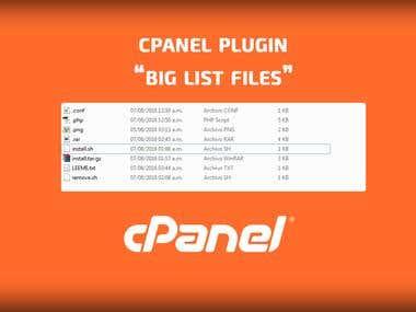 Plugin for cPanel / WHM