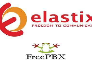 FreePBX and Elastix System Implementation