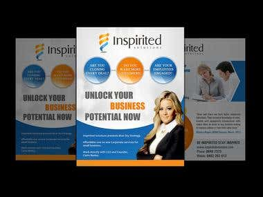 Brochure Design for Inspirited Solutions
