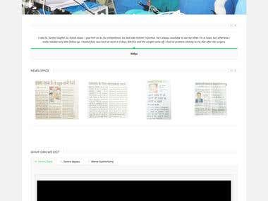 Medical Consultancy Website