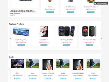 BulkBazar -E-commerce Website