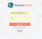 Travel Web Admin- Laravel and Angular JS