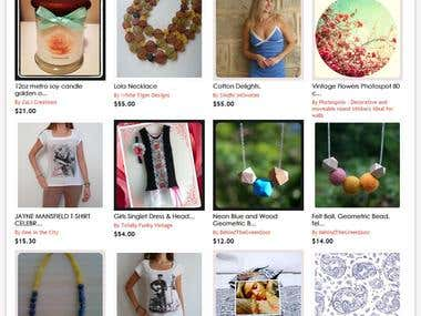 Marketplace for Handmade Products