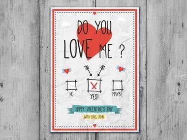 Flyer Design - Love Cards