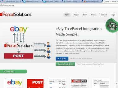 Design & development - Parcel solutions Australia