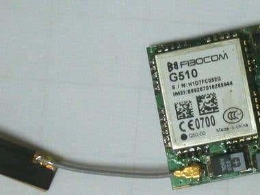 GSM motion alarm