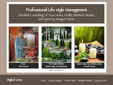 WordPress cutom theme for styledlives.com