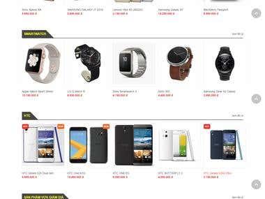 An E-Commerce Website on Drupal