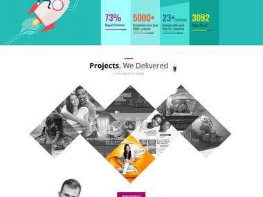 freelance design project