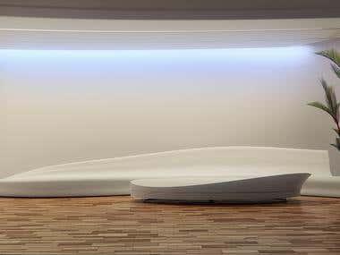 Sofa & Table