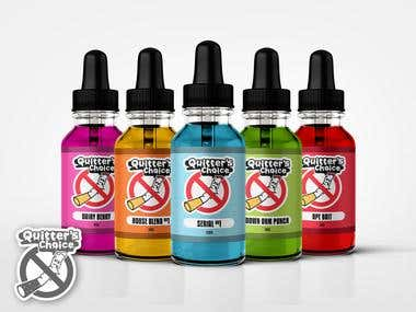 Quitter's Choice Vape Label