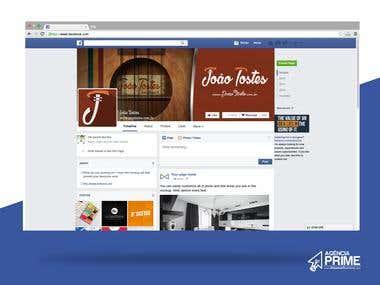 Capa e Perfil Facebook - João Toste