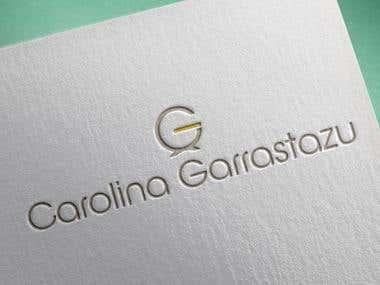 Logotipo - Carolina Garrastazu - Designer de Interior