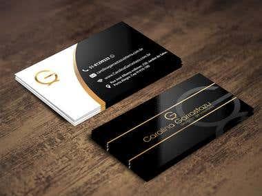 Cartão de visita - Designer de Interior