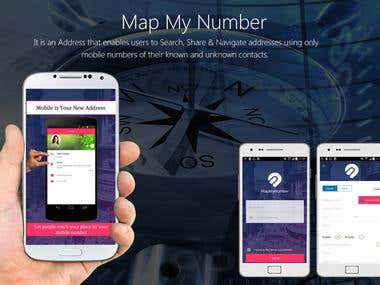 Map My Number App