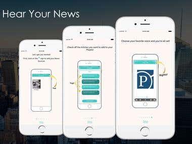 Hear Your News App