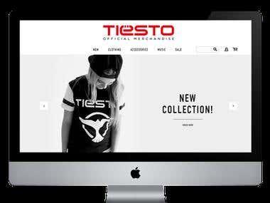 http://tiesto.com & http://tiestoshop.com