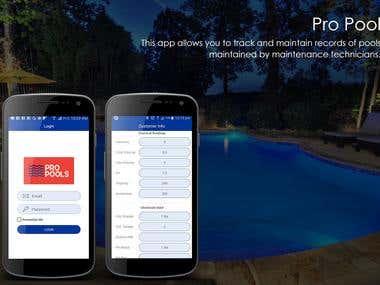 Pro Pool App
