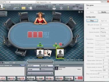 Poker Texas Holdem BOT