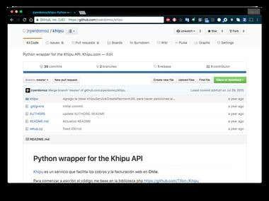 Python wrapper for Khipu API
