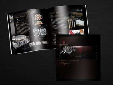 Brochures, menus, leaflets