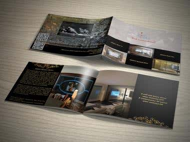 Luxury Product Brochure. Mirror TV.