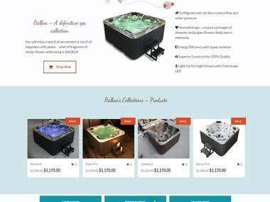 Modern Times Spa Website