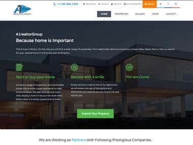 Web Design (Real Estate)