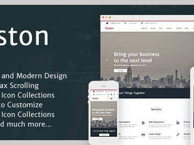 Viston - Multipurpose Modern Muse Template