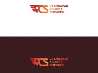 Logo for Vrandavan courier services