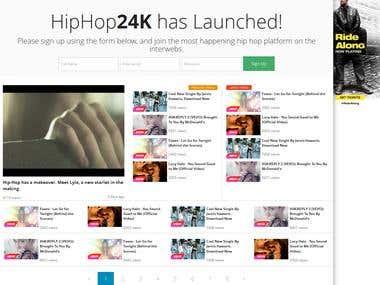HipHop Music Sharing Platform