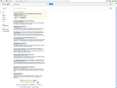 1st Page On google