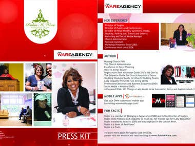Ware Agency - Brochure Design