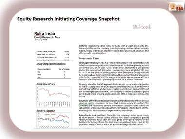 Equity Research Sample