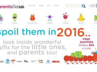 Parents Like Us [Wordpress]