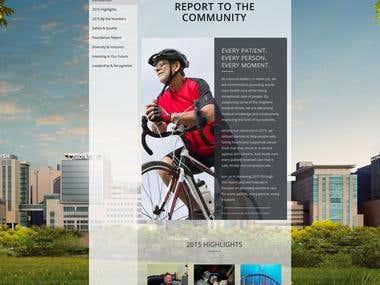 Barnes-Jewish Hospital Report to the Community