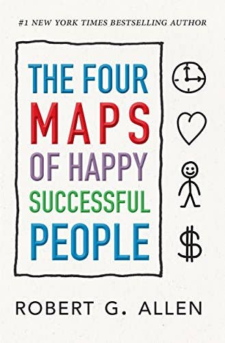 Proofreading - The Four Maps of Happy Successful People