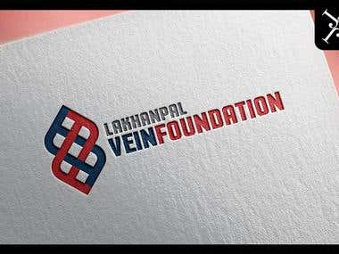 Logo design - Lakhanpal Vein Foundation