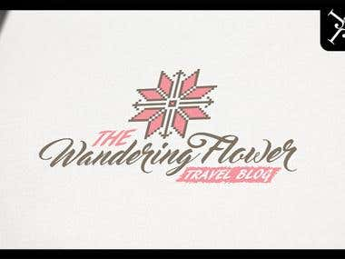 Logo design - The Wandering Flower