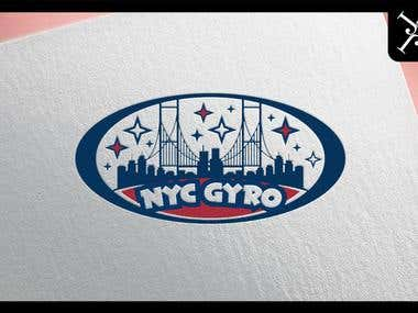Logo design - NYC Gyro