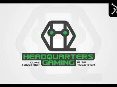 Logo design - HeadQuarters Gaming