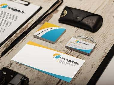 Corporate identity design - Driving Minds