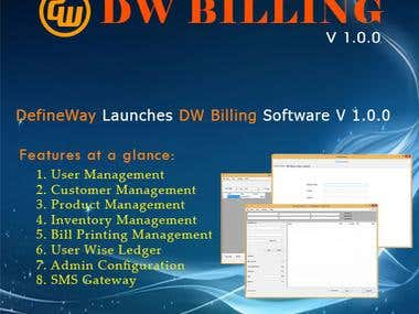 DW Billing Software (C#.NET)