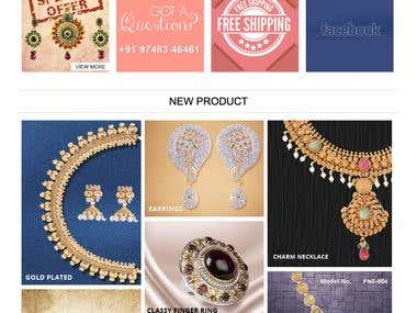Magento Jewellery Store