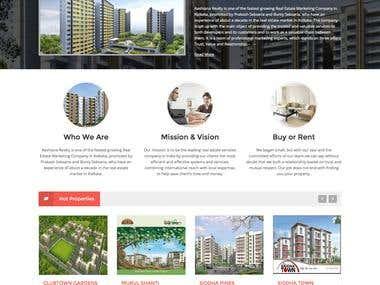 Real Estate - PHP Website