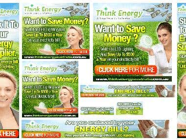 Google Banner ads for thinknergy