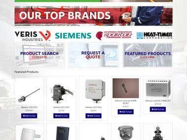 Industrial Parts Online Store in Big Commerce