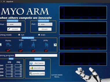 Prostheses Hand project (MYO ARM).