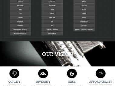 Magento Music Site
