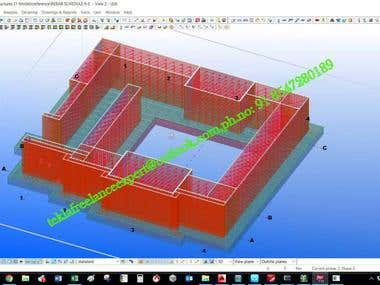 CAST IN PLACE DETAILING IN TEKLA